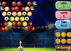 Bubble Shooter Fútbol de oro