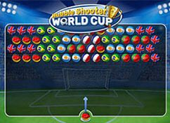 Bubble shooter Copa del Mundo