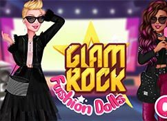 Glam Rock Fashion Dolls